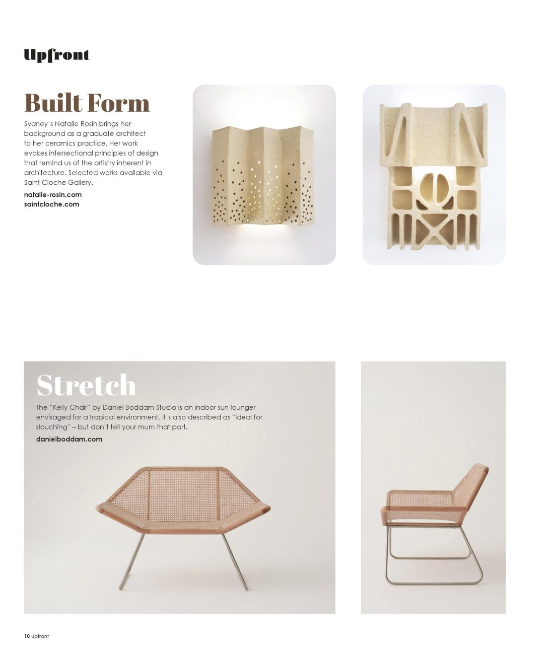 Green Magazine - Kelly Chair