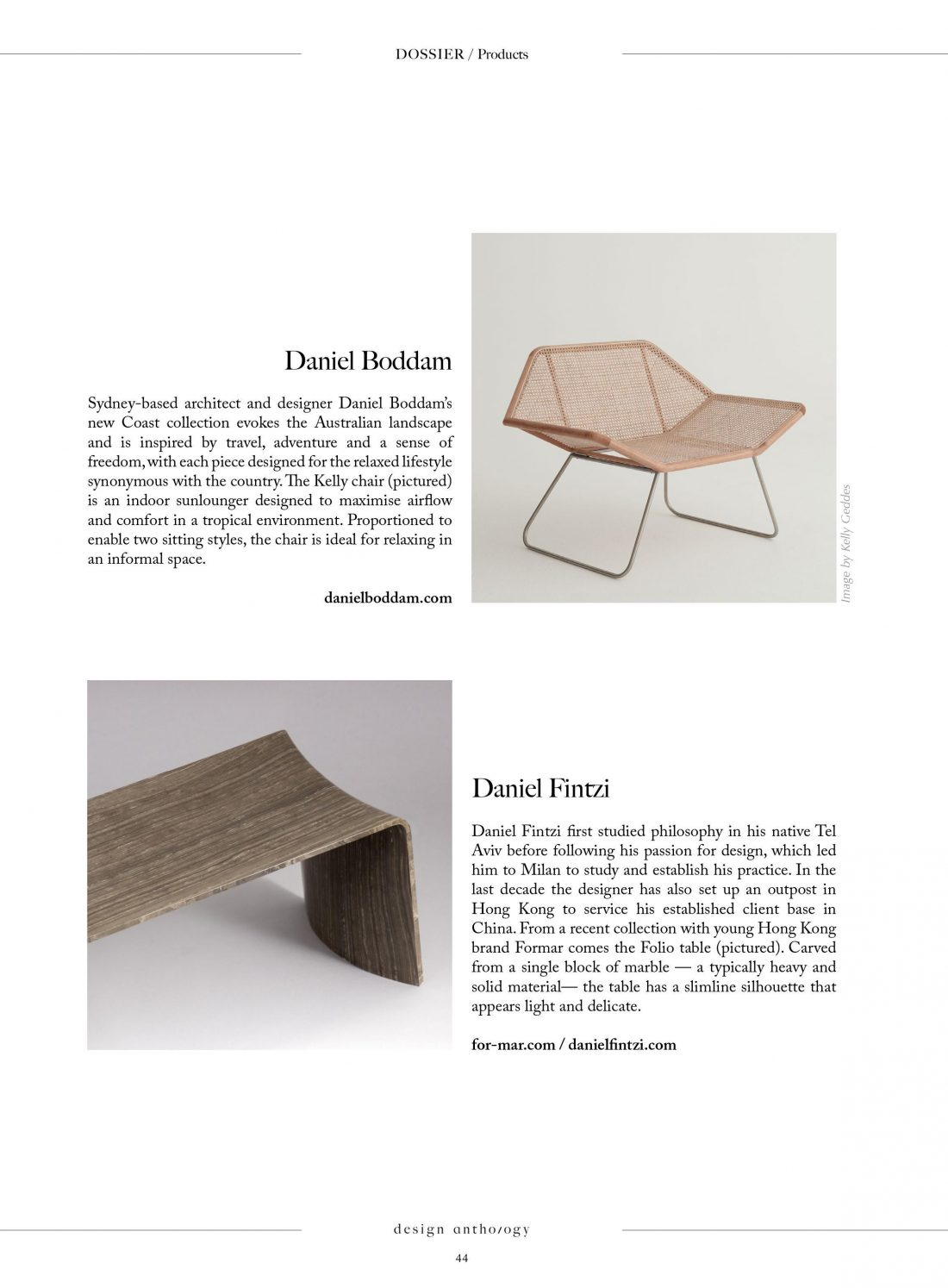 Design Anthology Issue 22 - Kelly Chair