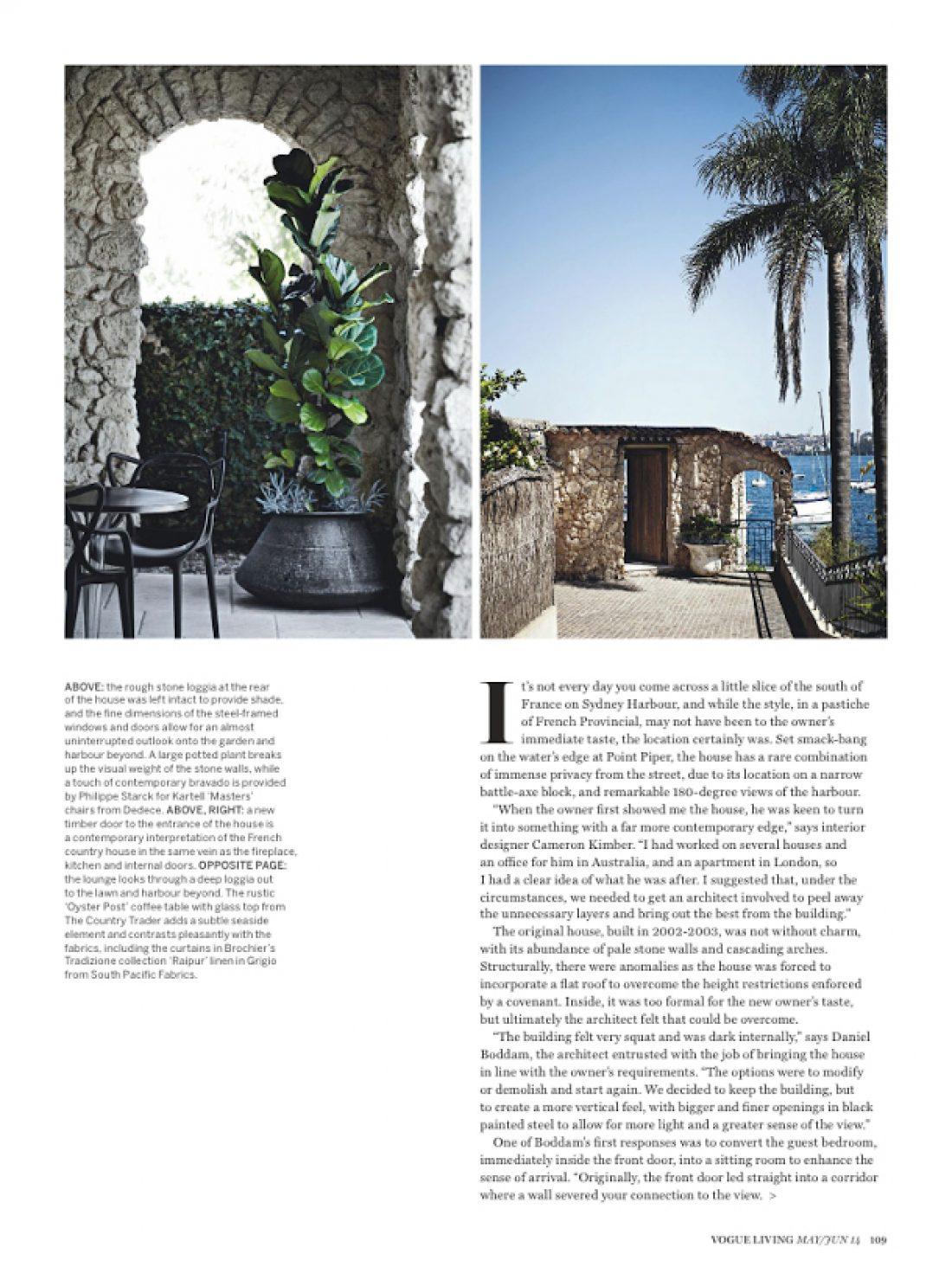 Vogue Living - Point Piper