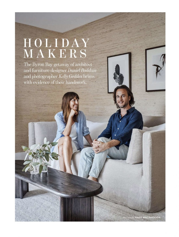 Belle Magazine - Tallow Beach Villa