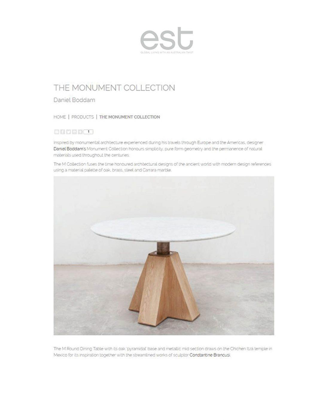 EST - Monument