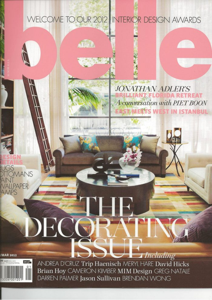 Belle Magazine 01/02/12